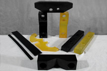 Various Urethane Clamps, and Slides